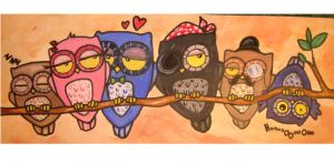 Owls by FoulOwl