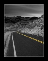 C4D Road to Valley of Fire by cravingfordesign