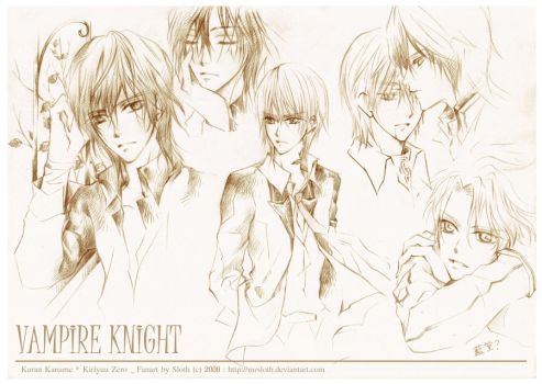 Vampire Knight : Night 001 by mrsloth