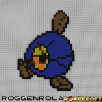 Pokecraft Roggenrola by PkmnMc