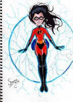 Violet Parr The Incredibles by FERPHN