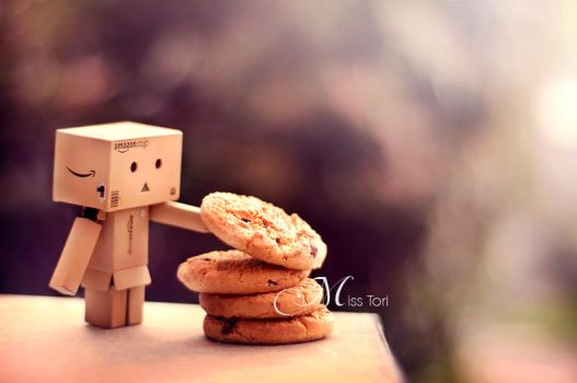 Cookie Danbo? by Lady-Tori