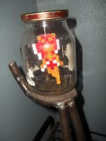 Fairy in a Jar Perler by Libbyseay