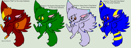 Song Adopts 1 Living Tombstone Edition!! by Metaroy110