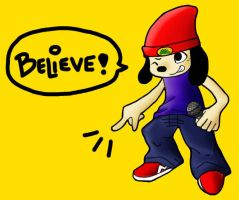 Parappa the Rapper by BoopBear