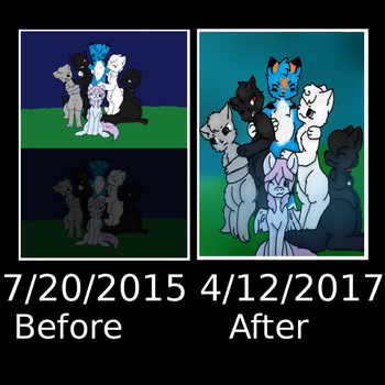 Before And After 3 by SkyPaint1