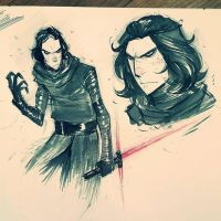 Kylo Ren by COLOR-REAPER