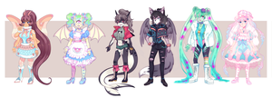 ~Adoptables 3 (Auction) - OPEN! ~ PRICE REDUCED!!! by Miiru-Inu