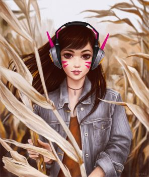 Casual D.Va by Dzydar