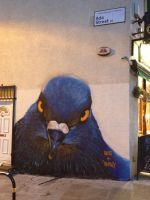 Broadway Market Pigeon by Boe-art