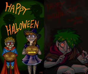Happy Halloween 2013 by ZaraLT