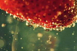 Strawberry bubbles by shaina74