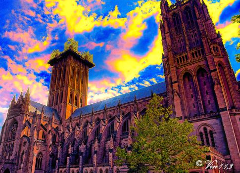 National Cathedral-2 by vin113