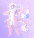 Pastel Lioness Adopt PayPal Only(OPEN) by Yutaila