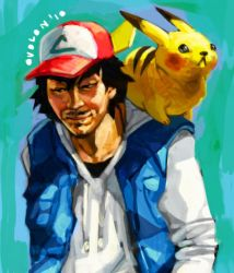 Ash Ketchum by ovolon