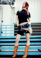 Valkyrie-RE: DC Claire Redfield Cosplay by Hamm-Sammich