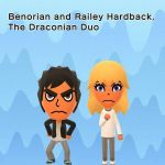 Benorian and Railey Hardback (Mii version) by BenorianHardback26