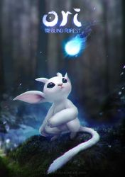 Ori and the Blind Forest by eloel