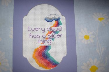 My First Cross Stitch by TeaBeeAdventures