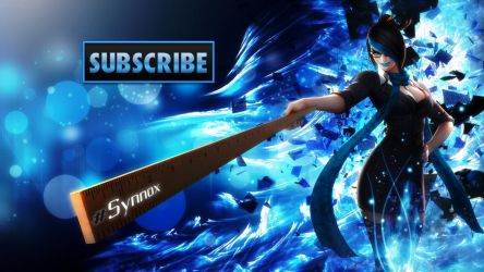 Subscribe Synnox Banner by xStree