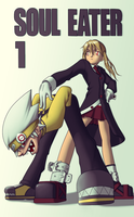 Soul Eater - Soul and Maka by D-KaNe