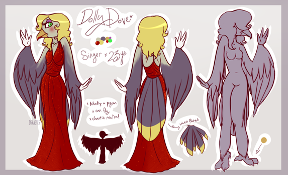 CH OC: It's Dolly Dove! by DrGaster