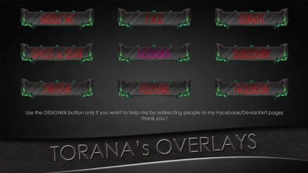 Omega Squad Teemo Stream Buttons by ToranasOverlays