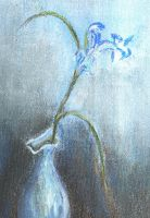 the BLUE vase by Enigma-thats-me