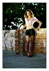 Grunge Shoot - 4 by twitchster