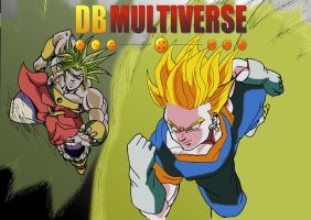 Broly VS Vegetto DBM by jerome13001