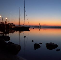 sunset yacht-club by Ziw