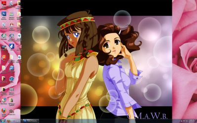 Me and Teana by Drachea by Yamigirl21
