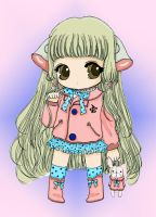 Chibi Chii Colored by Frozen-Rivers
