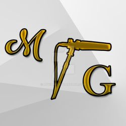 M.G.'s logo (for his visit card) by Lyviaff