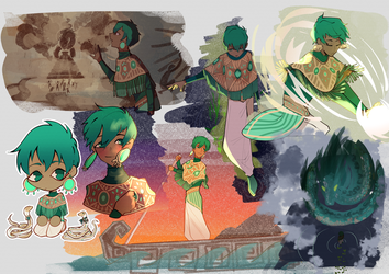 sketchpage for shuufly by Ikeela