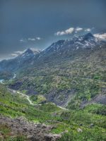 Alaskan Mountainscape HDR by ProvoAggie