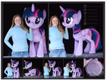 Twilight Sparkle Lifesize Custom Plush by Nazegoreng