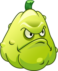 Plants vs Zombies 2 Squash (R) by illustation16
