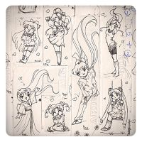 Sailor Moon while I study :P by naylapulga