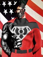 sinestro corps cyborg superman by megamike75