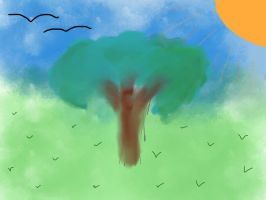 SKETCH A TREE by EljayS