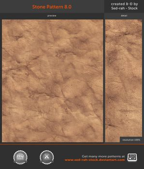 Stone Pattern 8.0 by Sed-rah-Stock