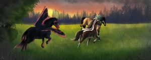 A Game of Tag by casinuba