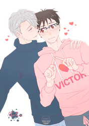 Yuri!! On Ice by Soelium