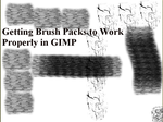 Getting Brush Packs to work properly in GIMP by EffectiveDisorders