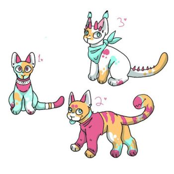 Mass adopts sale! 20pts each! by MountainCitrus