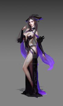Xuan Yuan Character Design by HugeClaw