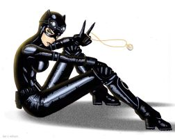 Catwoman by RightHandOfDoom