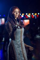 Leliana at Moscow Comic Convention 2016 by Songbird-cosplay