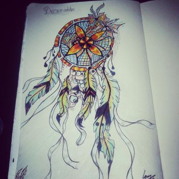 dream catcher by 1000-faces